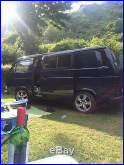 Vw T25 Porsche 17 Wheels And Adaptors Wheel Nuts Included And 4 Locking Nuts