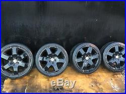 Vw t5 transporter Range Rover Wheels 19 All Bolts, lock Nuts And Nut Key