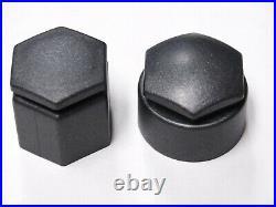 WHEEL NUT BOLT COVERS FOR AUDI Q7 2006-2015 LOCKING CAPS DARK GREY CHARCOAL x20