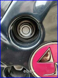 WHEEL NUT COVERS FOR PEUGEOT 208 308 2008 3008 17mm LOCKING CAPS DARK GREY x20