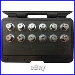 WW5004 12-Piece Locking Wheel Nut Sockets For Opel-Vauxhall OEM