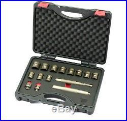 Welzh Werkzeug Universal Locking Wheel Nut Removal Kit Removes The Spinning Nuts