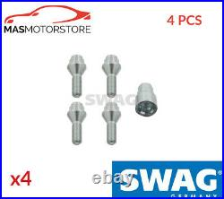 Wheel Bolt Nut Set Kit Swag 20 92 7049 4pcs G New Oe Replacement